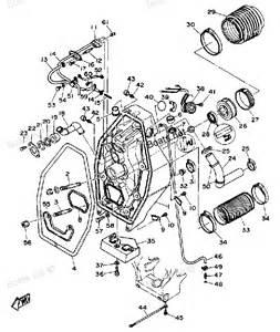 yamaha sterndrive parts diagram 1990 int yamaha drive gimbal housing 1 diagram and parts