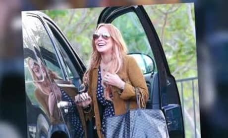 Lindsay Leaves Rehab by Page 1100 The Gossip