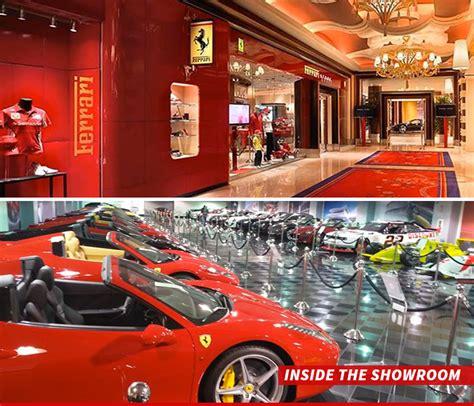Las Vegas Ferrari Store by Steve Wynn S Las Vegas Hotel 35 Ferraris Get The Boot