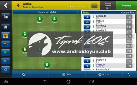 football manager handheld apk apkoyunclub football manager handheld 2015 v6 0 apk