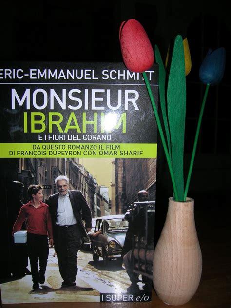 monsieur ibrahim e i fiori corano libro libritudine marzo 2006