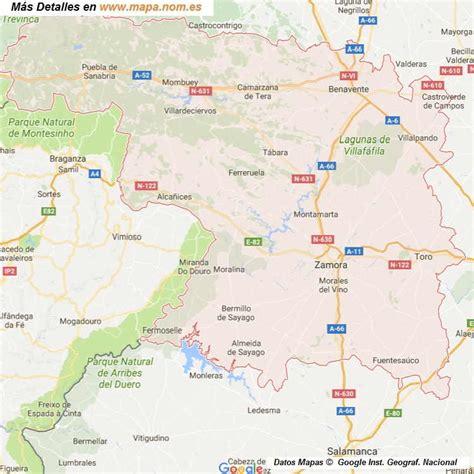 mapa de carreteras de asturias tama 241 o provincias de espa a mapa de carreteras callejeros mapa de zamora provincia y pueblos pagina l