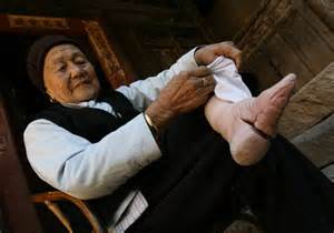 world tradition chinese foot binding