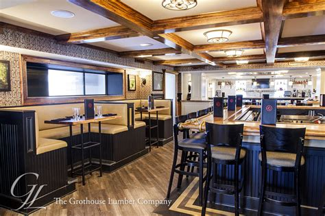 Commercial Bar Tops by Custom Ash Commercial Bar Top In Pennsylvania