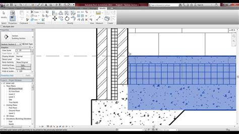 Revit Tutorial Floor | revit 2013 tutorial floors youtube