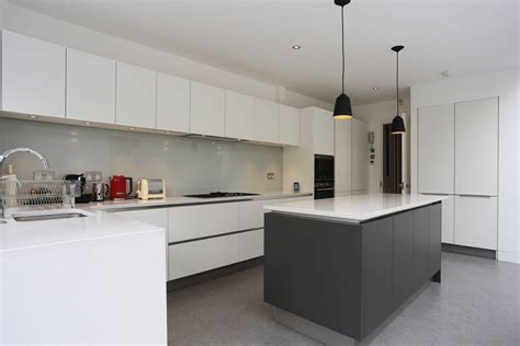 Kitchen Cabinet Styles by Grey And White Kitchen Island Extension