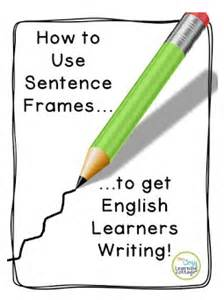 Teaching Essay Writing To Esl Students by Using Sentence Frames To Get Ell Students Writing Hojo S Teaching Adventures