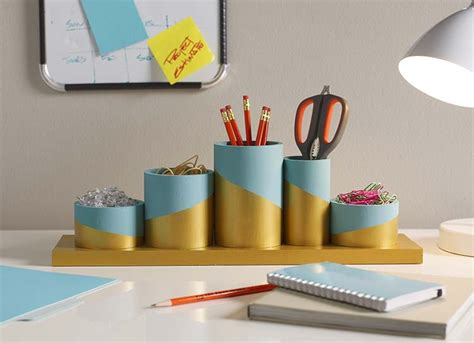 diy desk organizer ideas diy desktop organizer the home depot