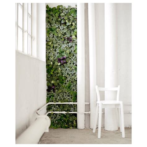 wall planters ikea fejka artificial plant wall mounted in outdoor green 26x26
