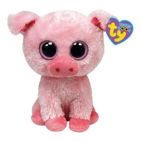 Pin Monokuro Boo Babi Pig ty beanie boo s baby pig pink quot corky quot pink piggy piglet stuffed animal toys and