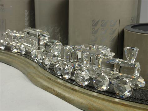 Swarovski Crystal Home Decor Swarovski Train Set Crystal Fanatics