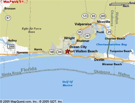 florida emerald coast map and golf resorts on the emerald coast click the mini map