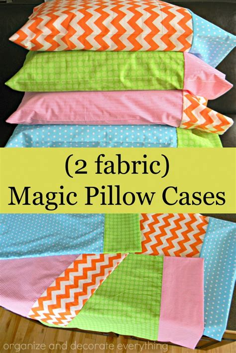 easy pillowcase pattern youtube magic pillowcase tutorial organize and decorate everything