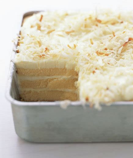 Toasted Coconut Refrigerator Cake   Our 30 Most Popular
