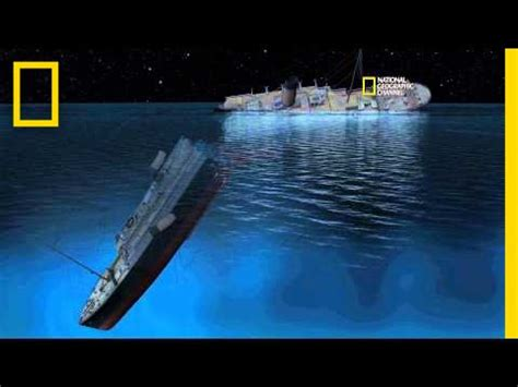 Titanic Sinking by New Cgi Of How Titanic Sank Titanic 100