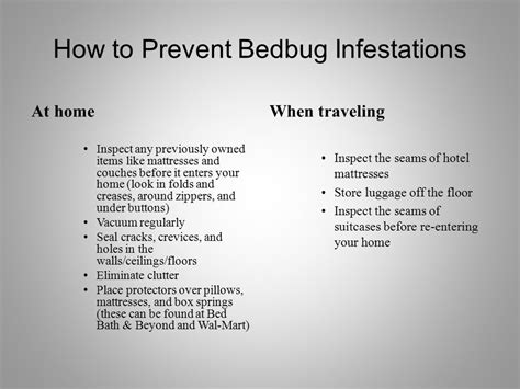 how to prevent bed bugs prevent bed bugs how to fly bed bug free bed bug signs