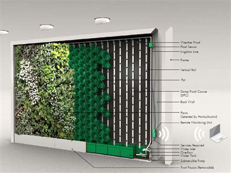 Indoor Balcony Vicinity Greenwall Systems Ods
