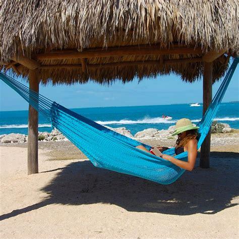 mayan caribbean hammock light blue by the caribbean