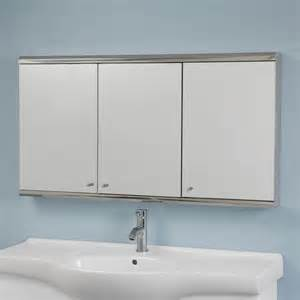 Bathroom Medicine Cabinet With Mirror Bathroom Large Medicine Cabinet With Light Brown Metal Frame And Frosted Glass Front Mirror