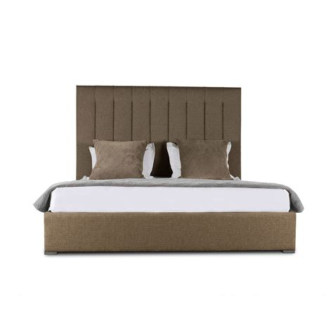 vertical bed audrey vertical channel tufting height bed south cone