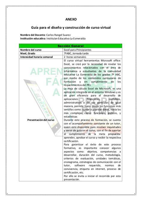 tutorial excel español guia para excel avanzado filetype pdf