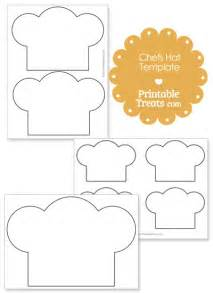 Printable Chef Hat Template by Printable Chefs Hat Outline Printable Treats