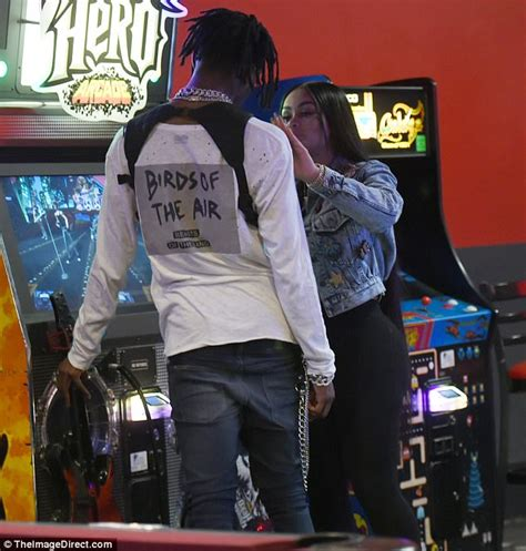 blac chyna shoots hoops with new fling playboi carti