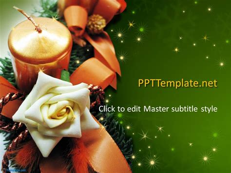 Free Christmas ***** PPT Template