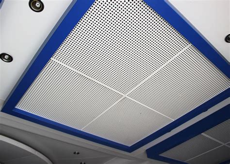 Perforated Metal Ceiling Panels by Perforated Metal Suspended Ceiling Tiles With Sound
