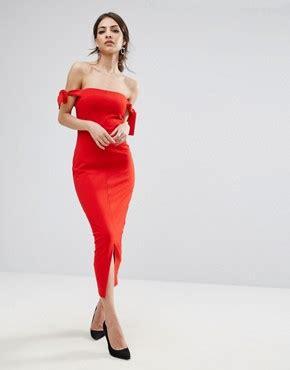 lavish lavish pencil skirt with knot front simple lavish shop lavish dresses tops skirts asos