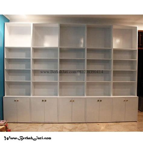 Harga Buku Kotak lemari rak buku minimalis kotak kotak cat duco berkah