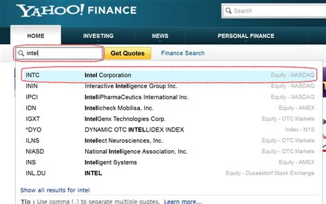 personal finance yahoo finance symbol lookup from yahoo finance yahoo stock symbol