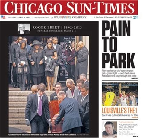 chicago sun times sports section 15 best images about chicago newspaper covers on pinterest