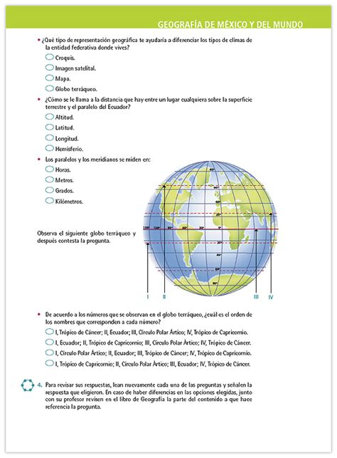 geografia preguntas y respuestas libro de ingles de telesecundaria 3 grado