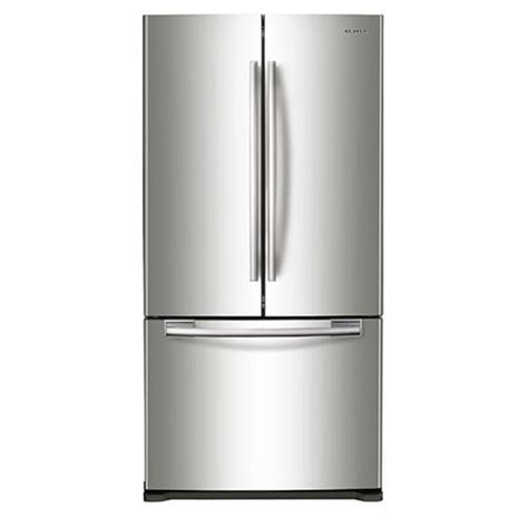 33 door refrigerator samsung rf18hfenbsr 33 quot w 18 cu ft capacity counter depth