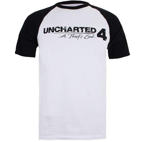 Raglan Bad Lego uncharted 4 s logo raglan t shirt white black