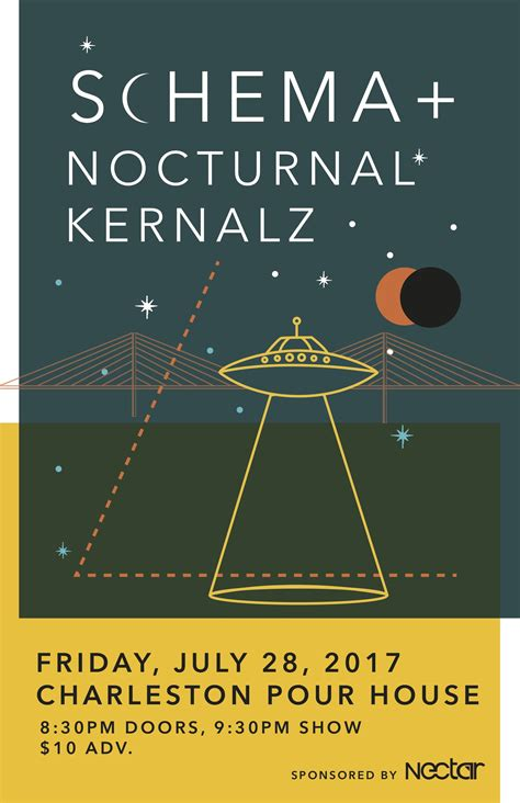 The Pour House Charleston by Schema The Nocturnal Kernalz Tickets The Charleston