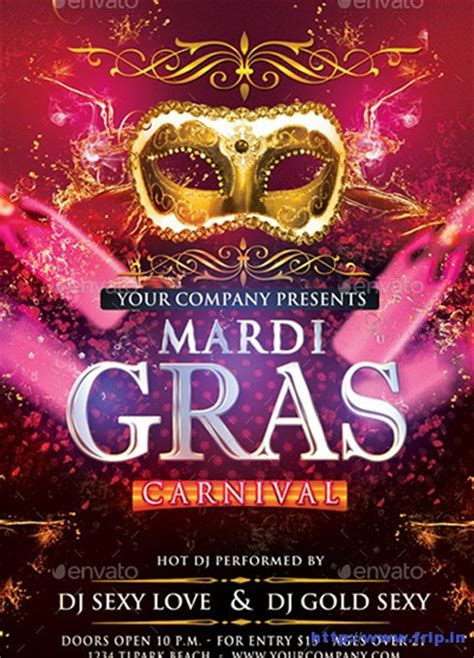 carnival party flyer 80 best mardi gras carnival flyer print templates 2016
