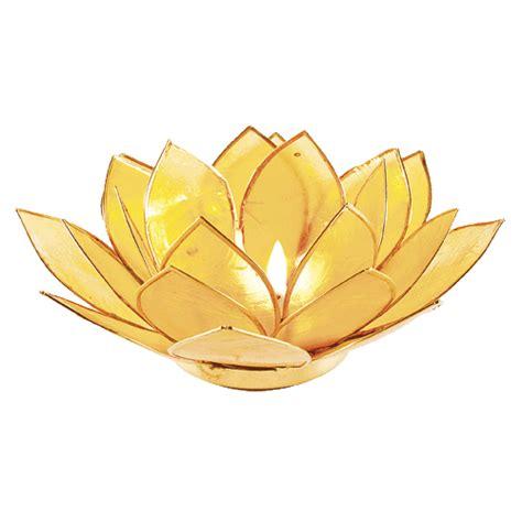 kerzenhalter lotus lotus kerzenhalter citringelb schirner onlineshop