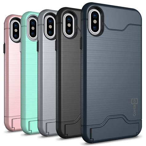 apple x case apple iphone x case securecard series hard phone cover