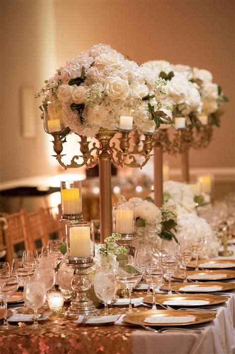 centerpiece for 15 candelabra floral centerpieces mon cheri bridals