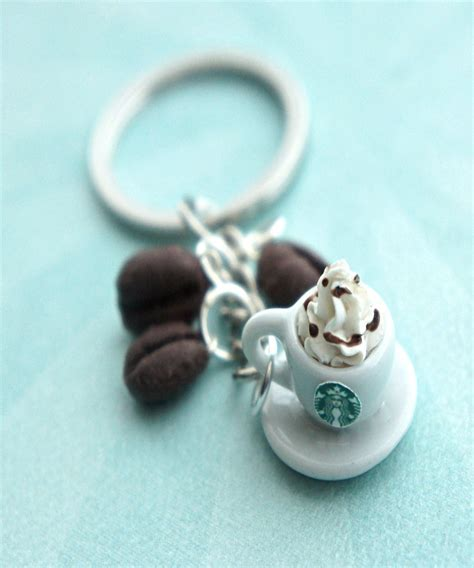 starbucks coffee keychain jillicious charms and accessories