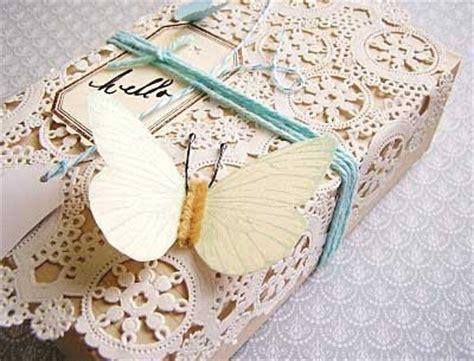 Paperbag Paper Bag Souvenir Wedding Packaging Os Dll Uk M 1 adornos con blondas para bodas vintage