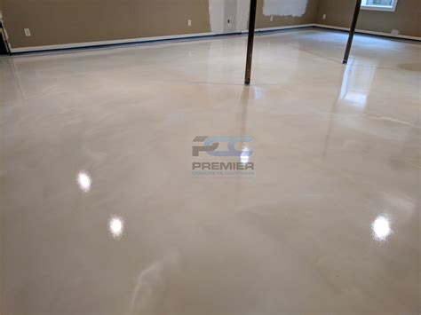 white epoxy basement floor epoxy flooring columbus ohio