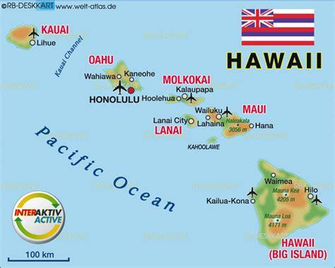 united states islands map hawaii islands world map afputra