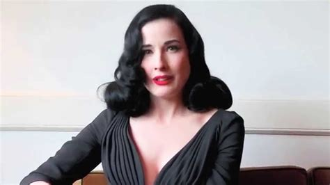 Would You Like To See Dita Teeses Wonderbra by The Of Ft Dita Teese