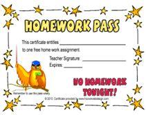 homework pass template free wise owl free homework pass template move