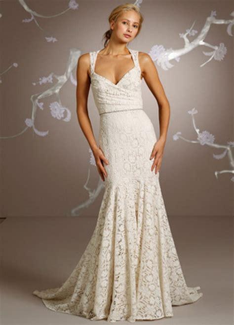 Cotton Wedding Dresses by Cotton Lace Wedding Dress
