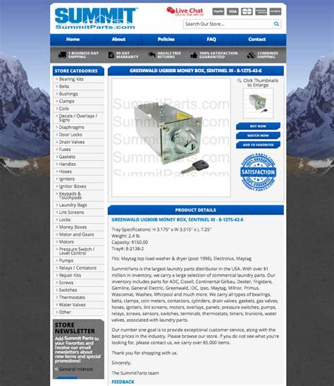 custom ebay templates summit parts seo driven design