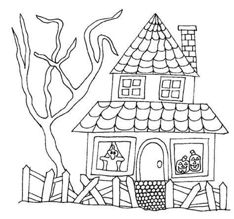 haunted house coloring pages coloring pictures of haunted